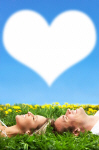 Heart Couple